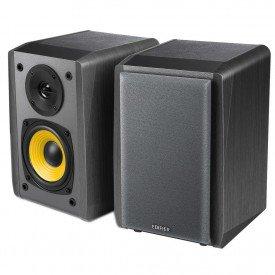 cima caixa de som edifier 24w r1010bt preto