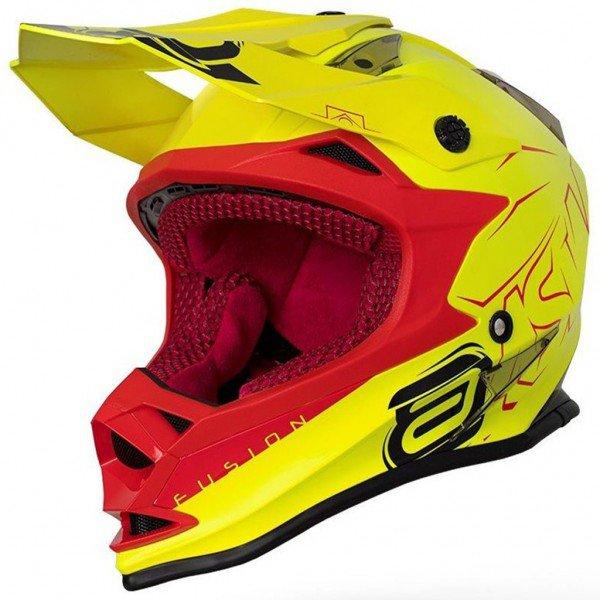 capacete para motocross asw fusion sharp 0877