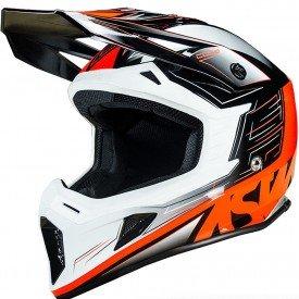 capacete para motocross asw core rush 0887