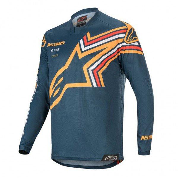 camisa para motocross alpinestars racer braap 20 7140