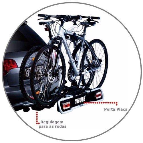 Suporte Thule EuroRide 941 para Engate 2 Bicicletas