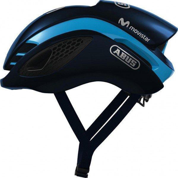 capacete para ciclismo abus gamechanger movistar 01