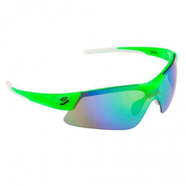 oculos para ciclismo spiuk mamba lente verde espelhada