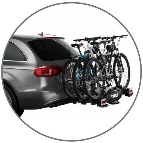 Suporte Para 3 Bicicletas
