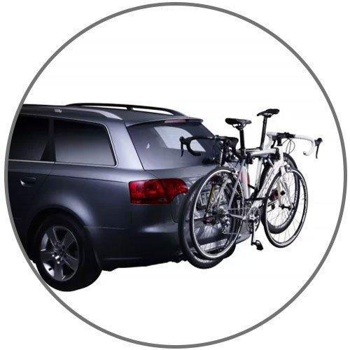 Transbike para colocar no carro para ate 2 bicicletas