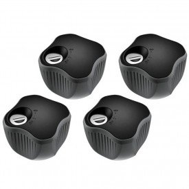 fecho para rack thule lockable knob 4 pcs 527