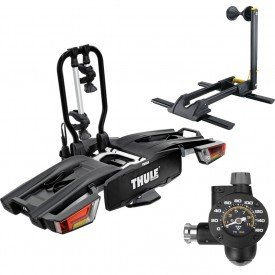 kit thule easyfold xt 933 cavalete lineup stand e inflador de co2 airbooster