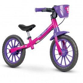 bicicleta infantil nathor balance feminina 01