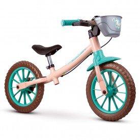 bicicleta infantil nathor balance feminina