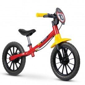 bicicleta infantil nathor balance masculina