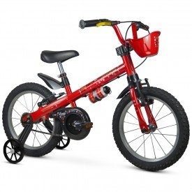 bicicleta infantil nathor lady feminina
