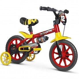 bicicleta infantil nathor motor x masculina