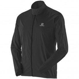 jaqueta corta vento salomon stop masculina
