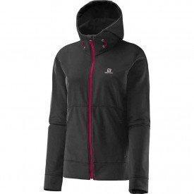 jaqueta salomon flyte hoodie feminina