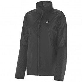jaqueta corta vento salomon stop feminina