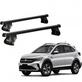 rack completo thule volkswagen nivus 5p hatch 20 21 smart squarebar 1180mm p longarina 784