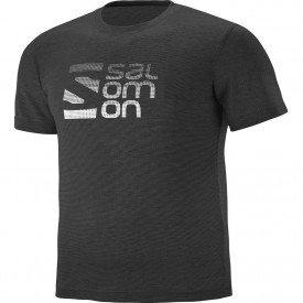 camiseta masculina salomon dots ss ii