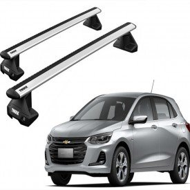 rack completo thule para chevrolet new onix