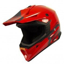 capacete para motocross asw core legacy vermelho 01