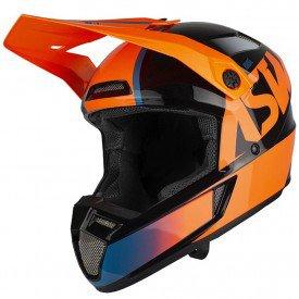 capacete para motocross asw bridge laranja
