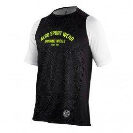 camisa para ciclismo masculina asw ride frontier 01