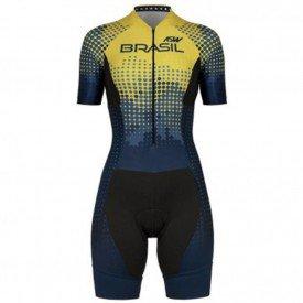 macaquinho para ciclismo feminino asw cbc