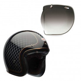 capacete para moto bell helmets custom 500 b15514 viseira bubble deluxe