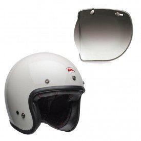capacete para moto bell helmets custom 500 b15516 viseira bubble deluxe