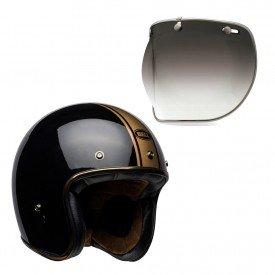 capacete para moto bell helmets custom 500 b18547 viseira bubble deluxe