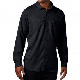 camisa ml masculina columbia silver ridge lite 01