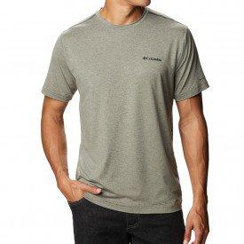 camiseta masculina columbia tech trail ii crew neck