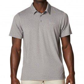 camiseta polo masculina columbia tech trail