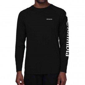camiseta masculina ml columbia aurora